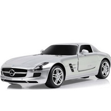星辉车模1:24 奔驰sls amg遥控汽车模型玩具40100 银色高清图片