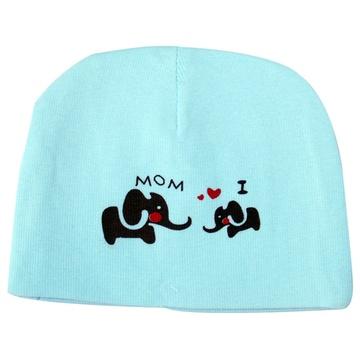 guga 咕嘎 婴儿帽子宝宝胎帽新生儿帽卡通可爱大象图案m36