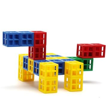 晨风正品儿童益智创意玩具塑料积木方块拼搭万能拼插乐高式包邮
