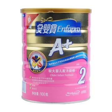 美赞臣900g罐装安婴宝A+装较大婴儿配方奶粉¥212
