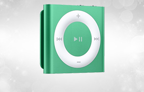 Apple iPod Shuffle MD776CH/A播放器(GREEN)(2GB)